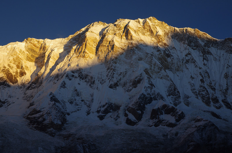 The mighty Annapurna South Face (8091 Meters), Himalayas, Nepal
