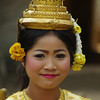 Traditional clothing in Cambodia, Ruins of Angkor, Cambodia
