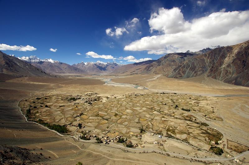 View from Stongde Monastery, Zanskar, Ladakh