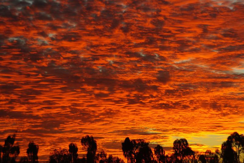 Sunset at Uluru, Northern Territory, Australia