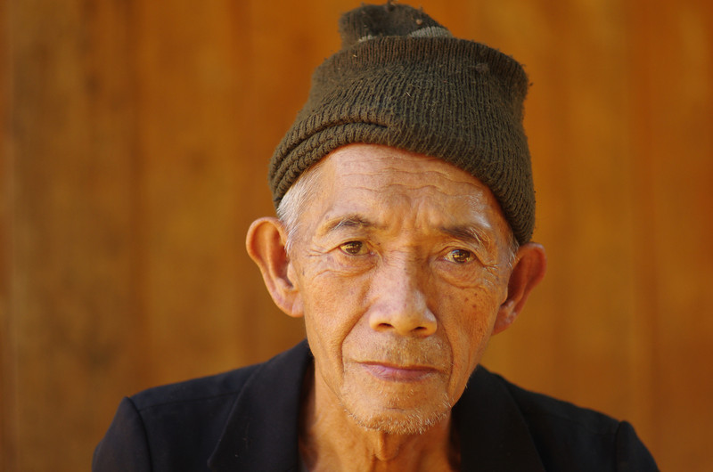 Shaman in Ban Long Lao Mai, Laos