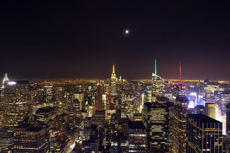 Top of the Rock, Rockefeller Center, New York City, USA