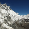 Lhotse South Face (8516 Meter) and Mount Makalu (8485 Meter), Himalayas, Nepal