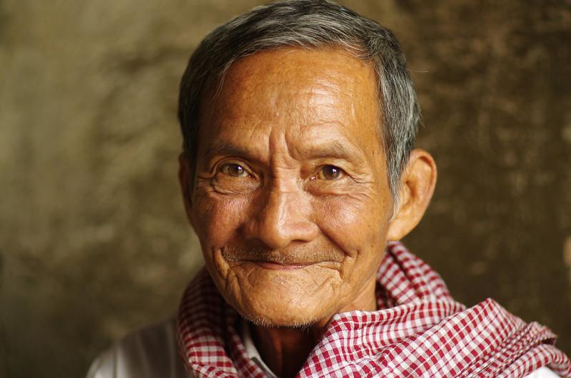 Old buddy from Cambodia, The ruins of Angkor Wat