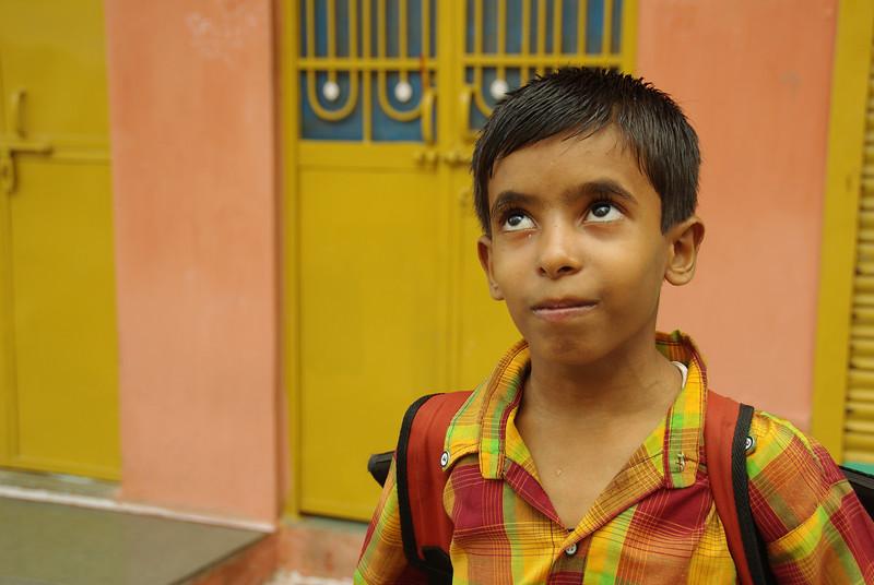 Indian boy in Udaipur