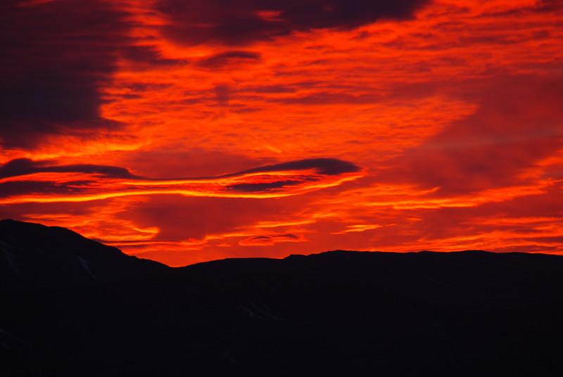 Sunrise in Patagonia, Argentina