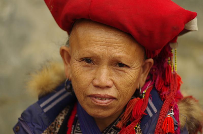 Dao Lady in Sapa, Northern Vietnam