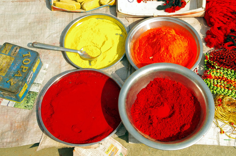 Colours in the Terrai, Nepal