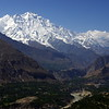 View to Rakaposhi (7788m), Hunza, Pakistan