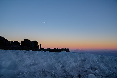Camp Muir Sunset