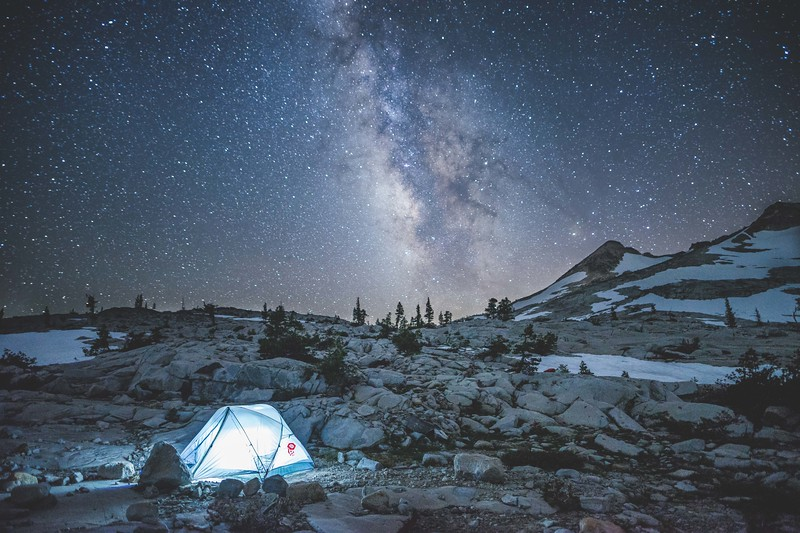 Milky Way in Desolation Wilderness, Ca
