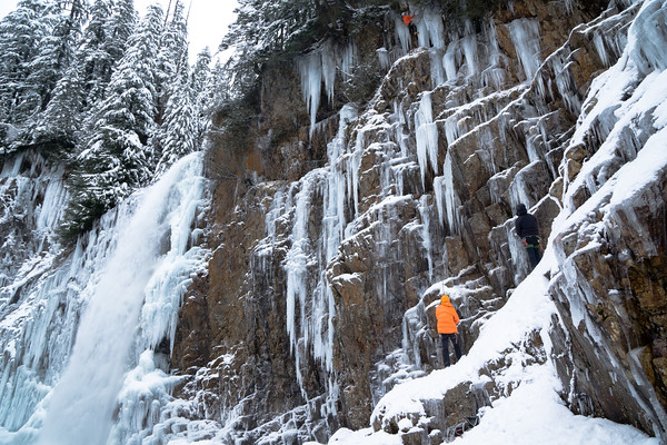 Franklin Falls and Ice Climbing