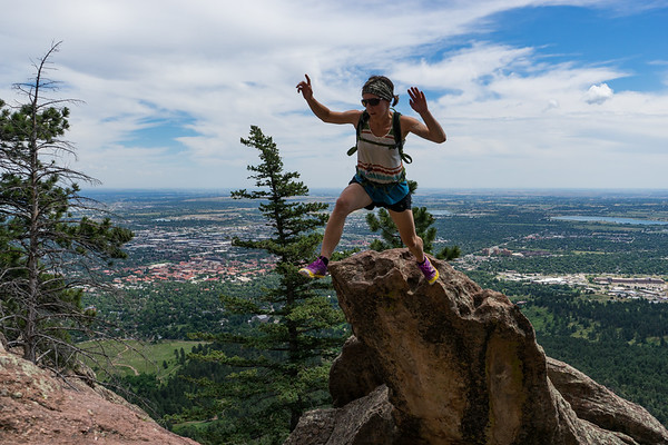 Free Soloing the Second Flatiron