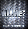 AllMed Brand products CD cover. This CD contained our Buyer's Guide, individual flyers of AllMed Brand products, informational forms, and other documents for existing and potential customers.