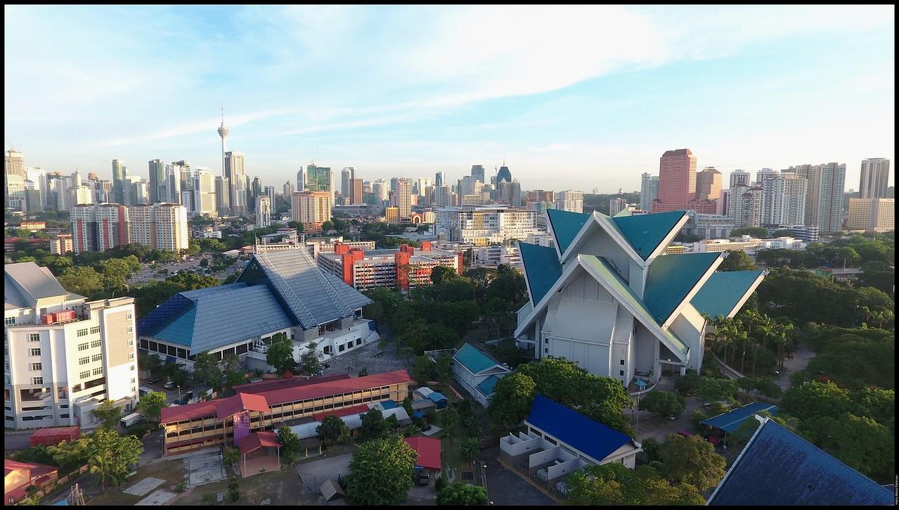 Sunset at Taman Tasik Titiwangsa DJI Phantom 4 30th May 2016 (c) Haris Abdul Rahman harisrahman.com