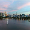 Sunset at Taman Tasik Titiwangsa<br /> DJI Phantom 4<br /> 30th May 2016<br /> (c) Haris Abdul Rahman<br /> harisrahman.com