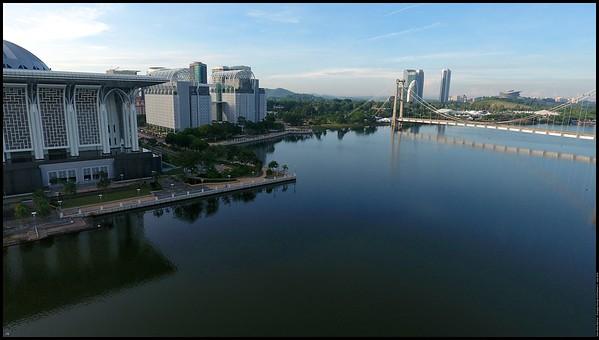 Saturday Morning at Putrajaya DJI Phantom 4 4th June 2016 (c) Haris Abdul Rahman harisrahman.com