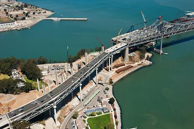 Bay Bridge Construction Work.
