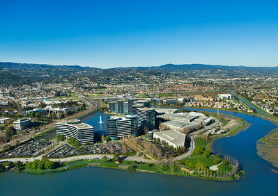 Oracle Headquarters, Redwood Shores, CA.