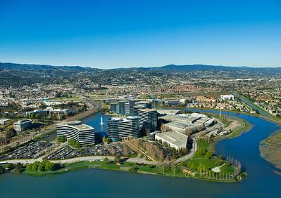 Oracle Headquarters, Redwood Shores, CA.