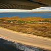 Flying over Fire Island, this is east of Watch Hill, part of the National Seashore.