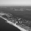 Fire Island, looking west toward New York City. You can see the Robert Moses Bridge and Causeway as well as the Great South Bay and Captree.