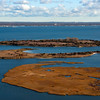 marsh islands in the Great South Bay