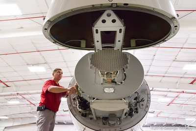 Maintenance Technician working with weather radar and avioncs line replacable units, LRUs. Dassault Falcon 7x business jet. Honeywell Flight Operations, Phoenix, Arizona. GoDirect, HAPP, MPP.