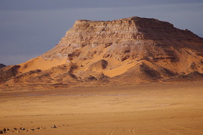Akakus Mountains of the Sahara in Libya