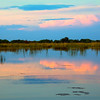 Okavongo Delta near Shinde Lodge, sunset