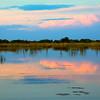 Okavongo Delta near Shinde Lodge, sunset