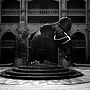 Life-size sculpture of Shavu the elephant, Sun City, South Africa (1994) © Copyrights Michel Botman Photography