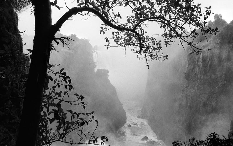 Victoria Falls, Zimbabwe (1993) Original Fine Art Documentary Photograph by Michel Botman © north49exposure.com
