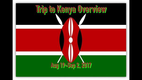 Kenya Trip Overview
