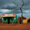 Green House in Kawale, on the way to Rumphi, Malawi (1994) © Copyrights Michel Botman Photography