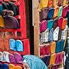 Fez medina, shoe vendor