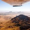 Aerial view of Namib Desert, southern Namibia