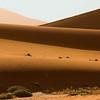 Wind-blown sand dunes, Namib Desert, southern Namibia