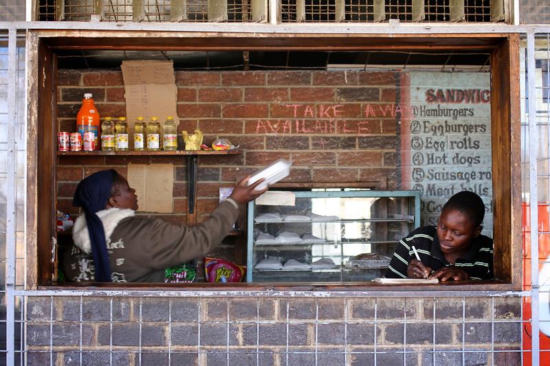 Small food stop near Bulawayo, Zimbabwe (2011) © Copyrights Michel Botman Photography