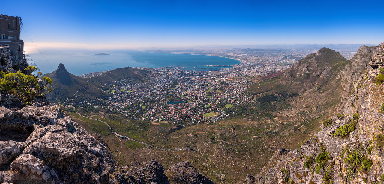 Cape Town from Table Mountain (Cape Town, South Africa)