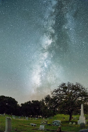Milky Way from the Cemetery