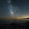 Lake Superior Milky Way