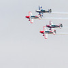 Phillips 66 Aerostars at 2018 Wings over Houston Air Show in Houston, Texas. Featured items included Blue Angels and other aviation related programs.