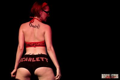 Scarlett O hairdye