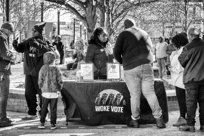 Woke Vote!  MLK Day voter registration and civil rights rally, January 20, 2020