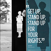 Stand up for your rights!  One of many signs throughout the civil Rights district