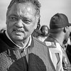 Baptist minister and activist, Jesse Jackson, Sr made an appearance alongside other dignitaries and nominees on the Edmund Pettus Bridge, March 1, 2020