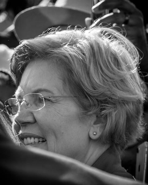 Presidential nominee, Elizabeth Warren