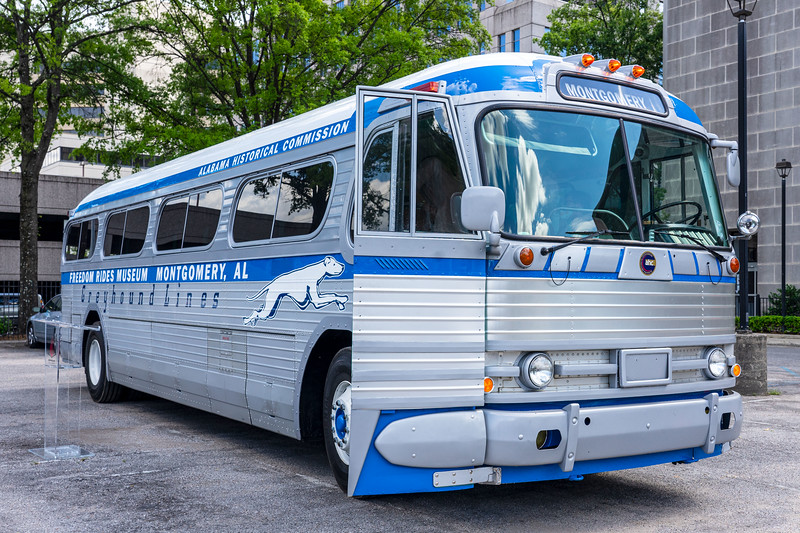 freedom rides replica bus and traveling museum