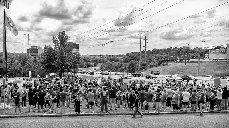 Hoover rally for justice and BLM, June 6, 2020